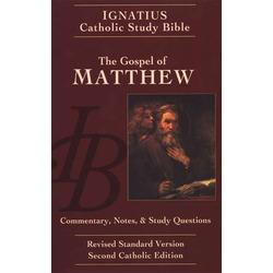 Catholic Bible Study: Matthews