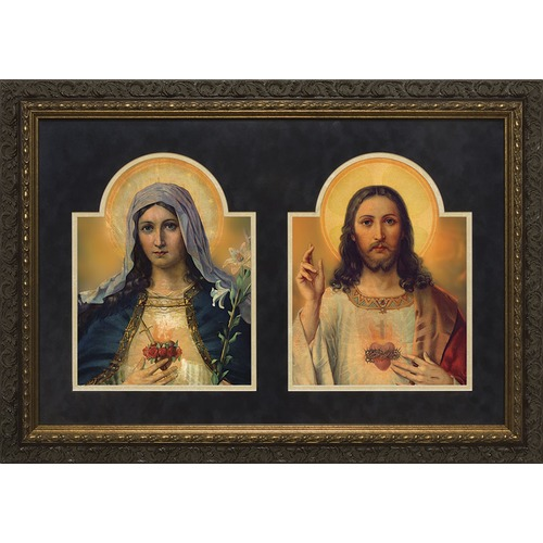 The Sacred Heart and the Immaculate Heart