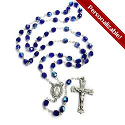 Bohemian Glass Birthstone Rosary