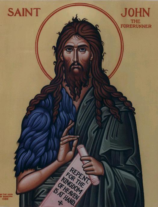 St. John the Baptist: The Forerunner of Jesus Christ
