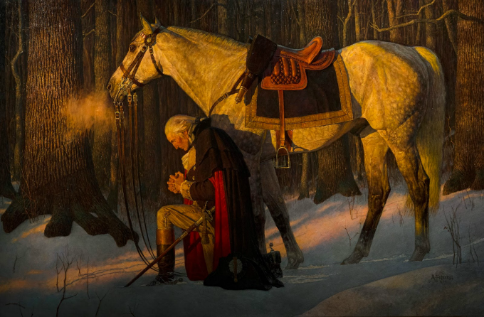 A prayer for our nation written by George Washington, our first President