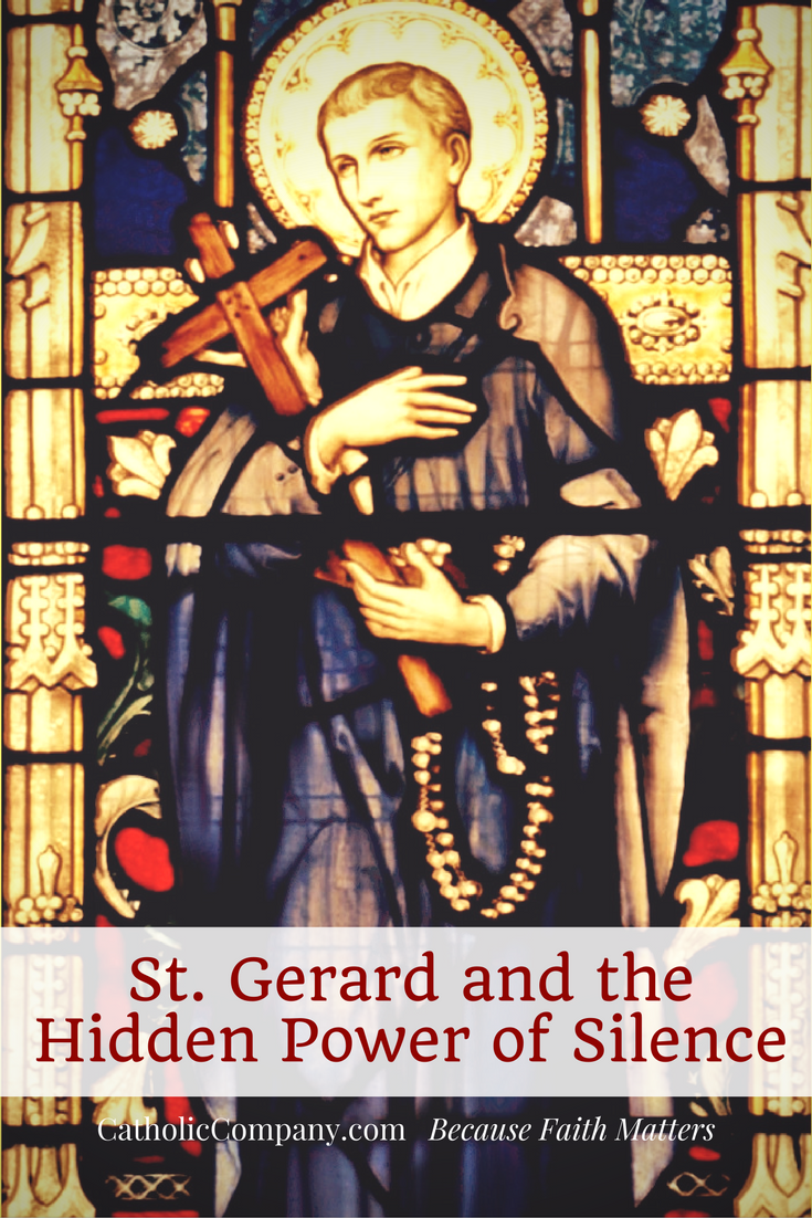 The story of St. Gerard Majella - patron saint of pregnant mothers.