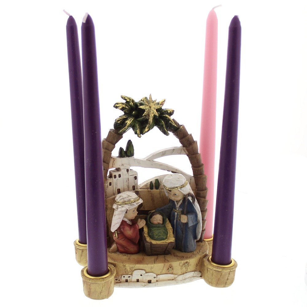 Child's Christmas Pageant Advent Wreath