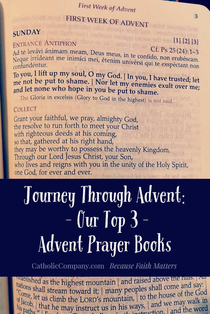 Take a Journey Through Advent with Our Top 3 Advent Prayer Books