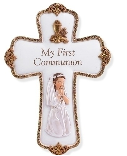 First Communion Crosses & Crucifixes