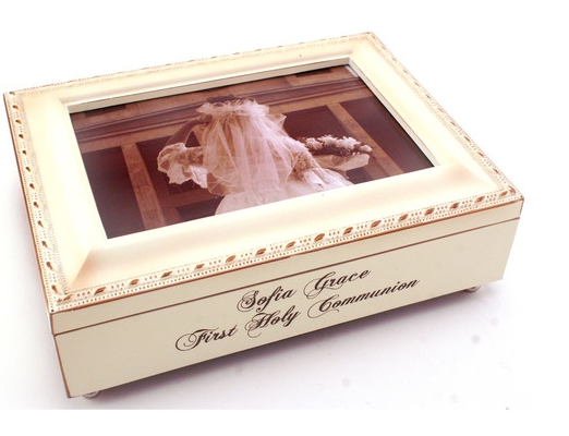 First Communion Personalized Photo Frames