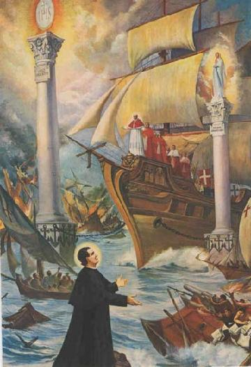 The Prophetic Vision of the Two Columns of St. John Bosco
