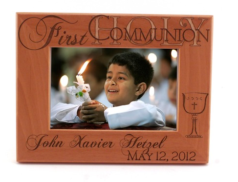 Personalizable First Communion Photo Frames