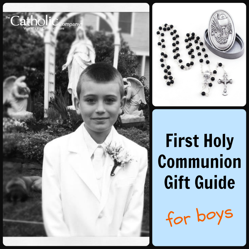 First Communion Gift Guide for Boys