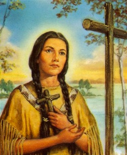 St. Kateri Tekakwitha, a Model Saint for Our Times