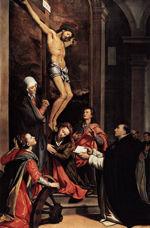 st thomas aquinas crucifix
