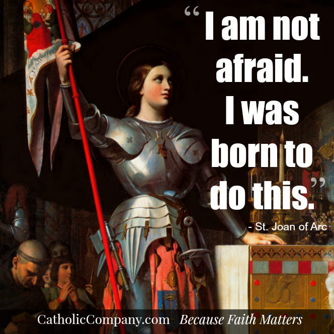 The story of St. Joan of Arc