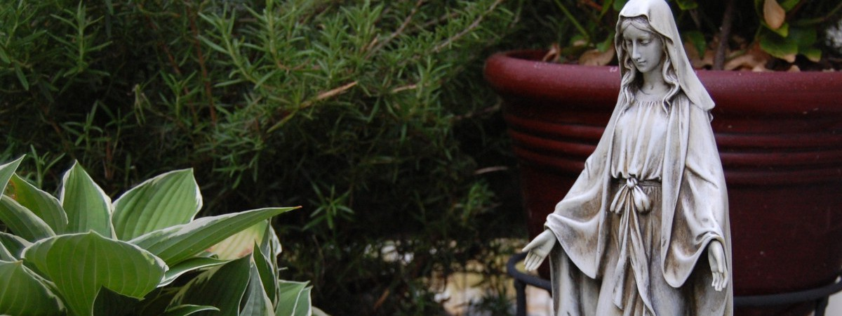 Find Inspiration to make your own Mary Garden