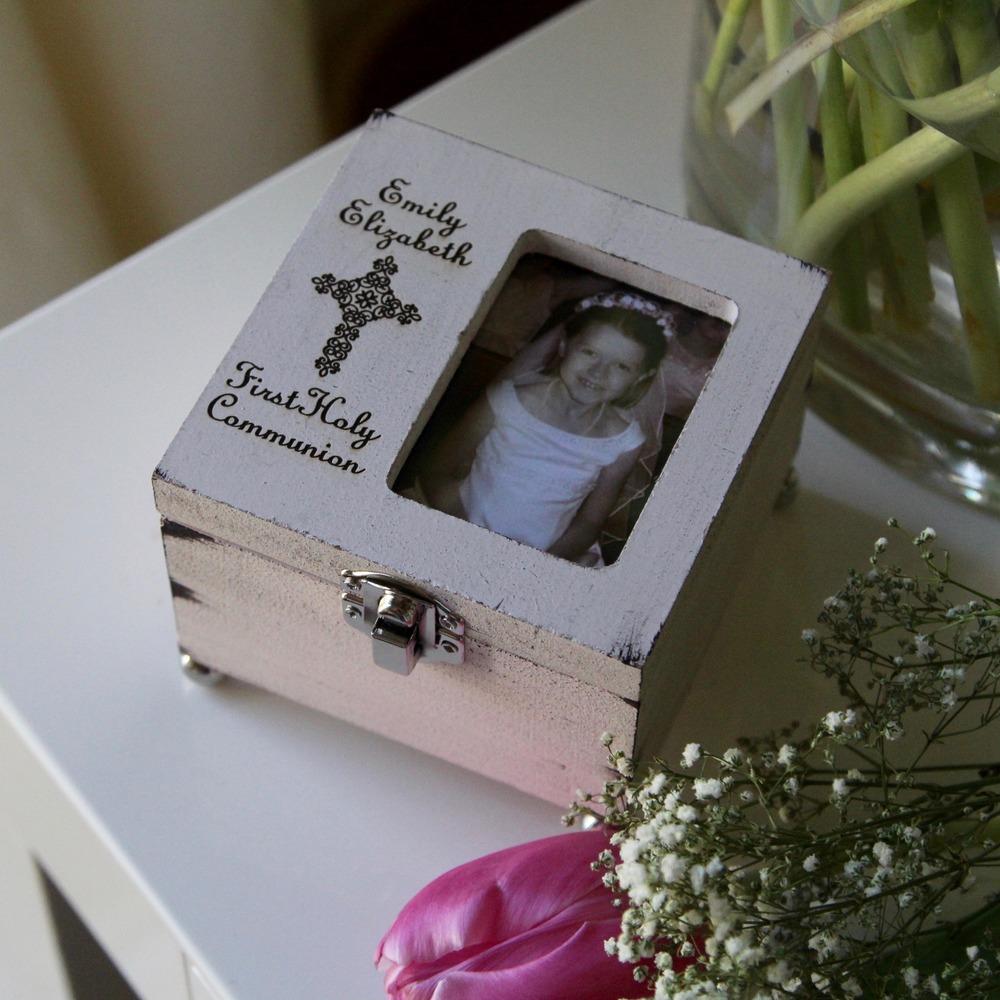 Personalized First Communion Keepsake Box