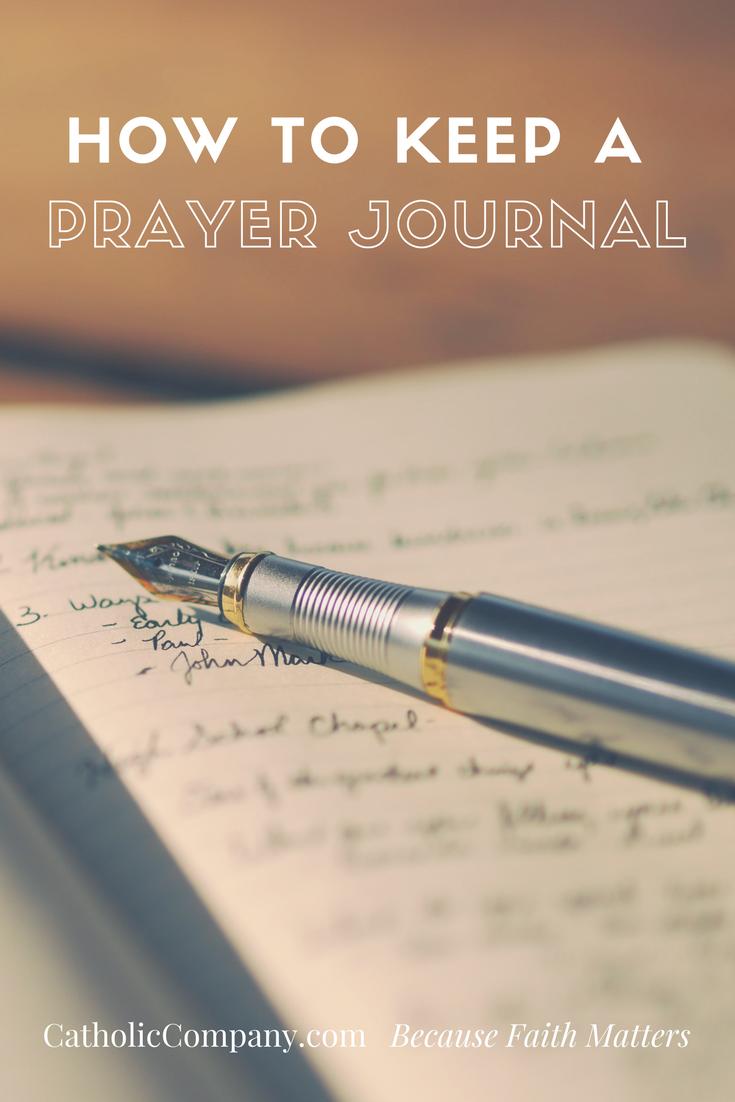 How to Keep a Prayer Journal