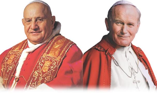 Pope John & John Paul