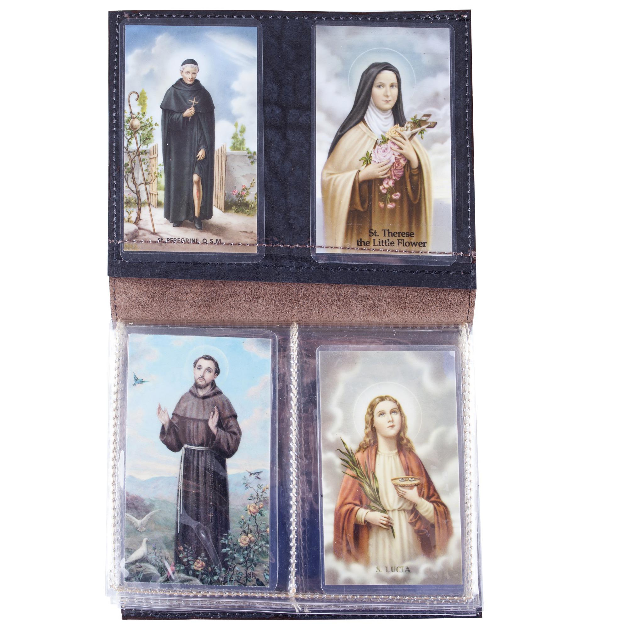 Leather Prayer Card Holder