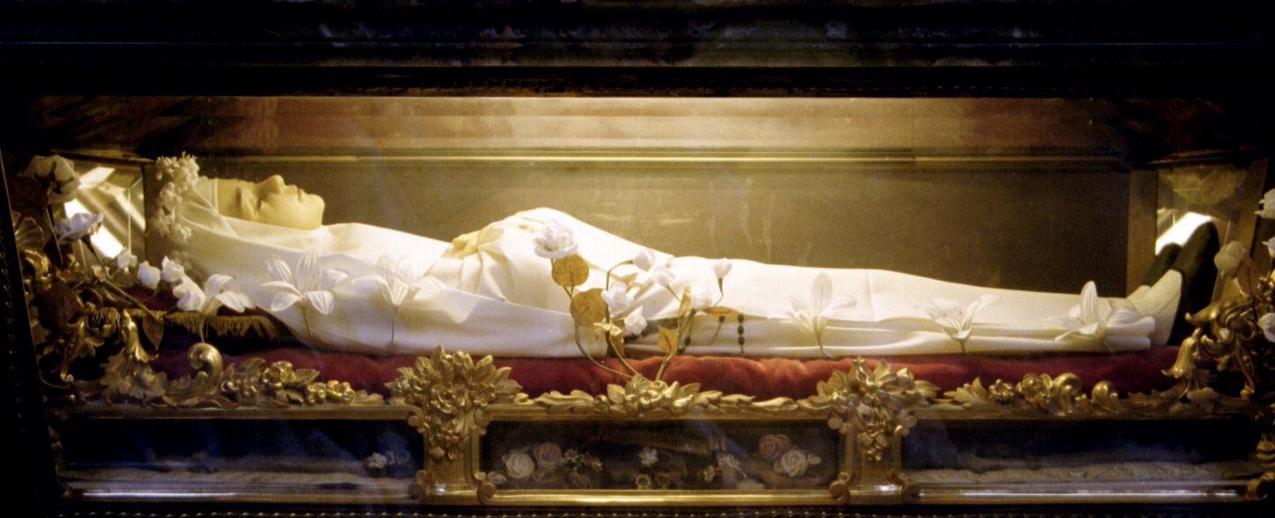 The Incorrupt body of Blessed Imelda Lambertini