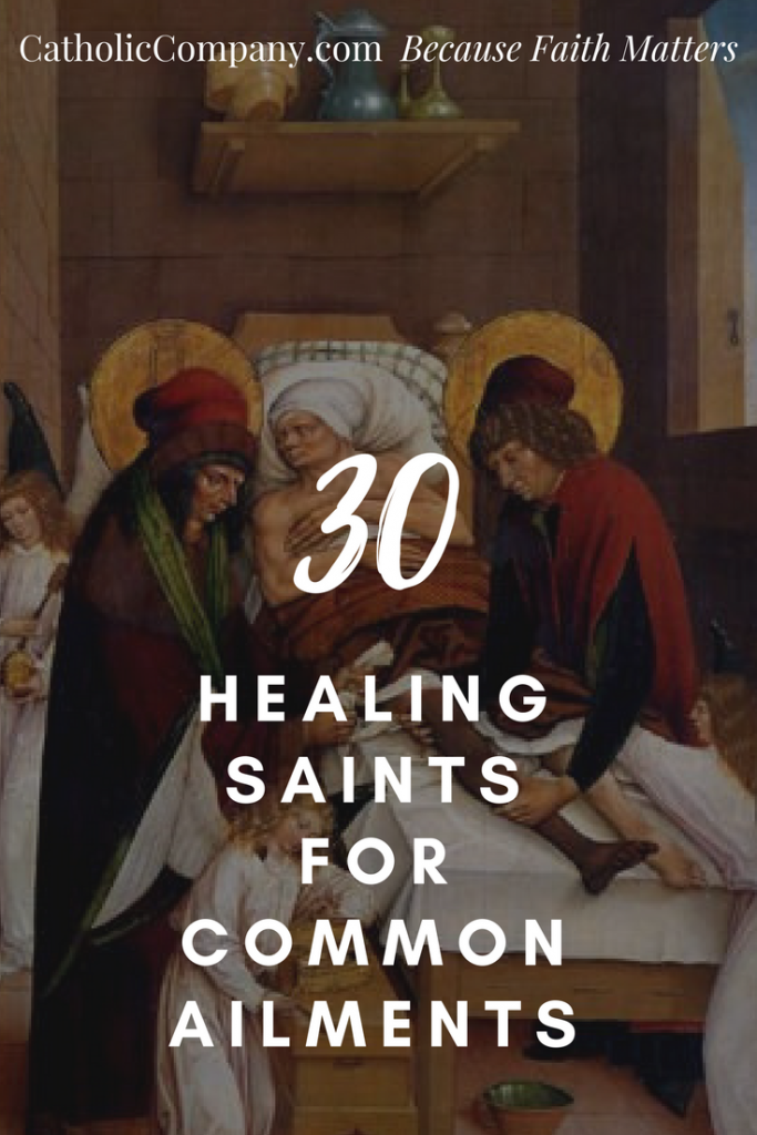 30 Healing Saints for Common Ailments | GetFed | The Catholic Company