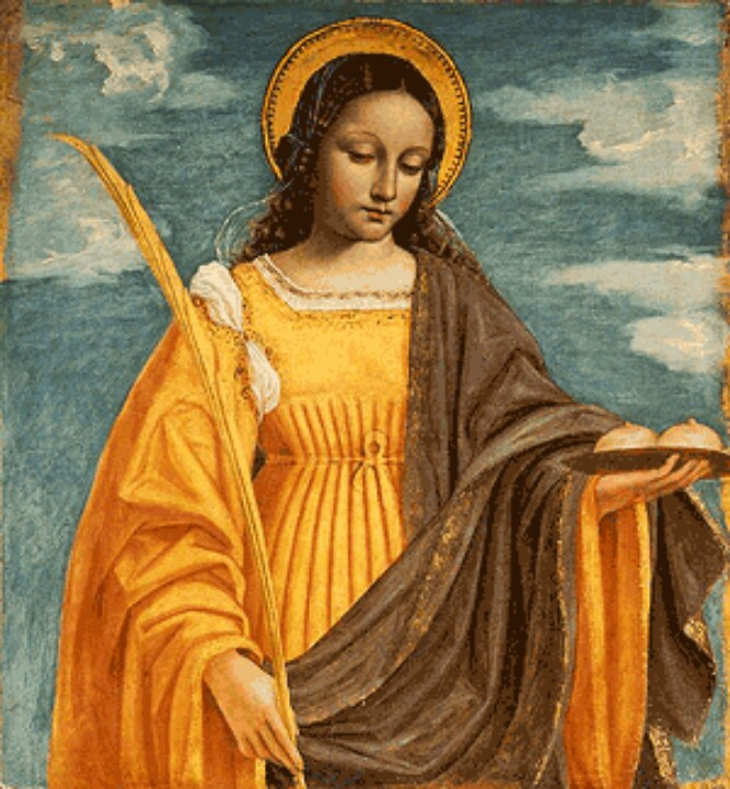 The Virgin Martyrs as Models of Purity: St. Agatha
