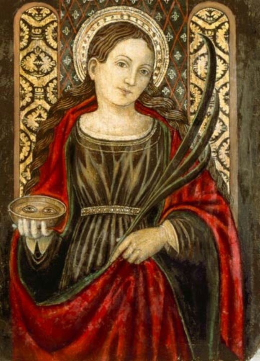 The Virgin Martyrs as Models of Purity: St. Lucy