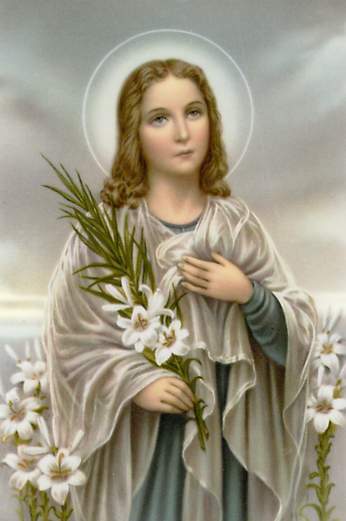 The Virgin Martyrs as Models of Purity: St. Maria Goretti