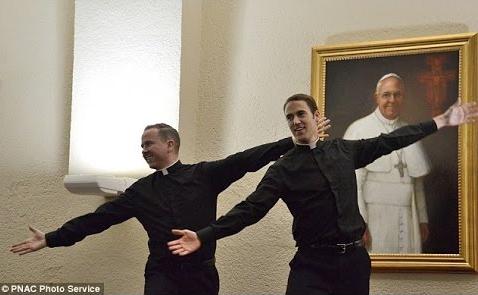 dancing seminarians