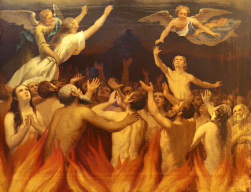 pray for the holy souls in purgatory