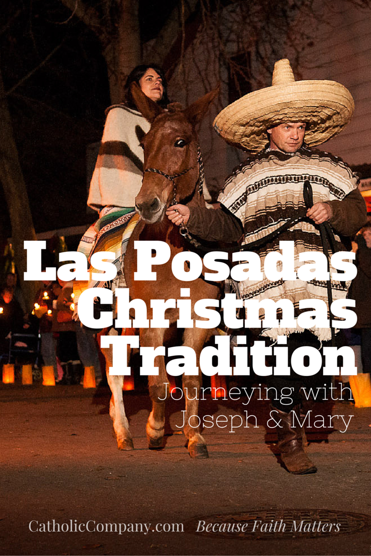 Las Posadas processions were brought to the New World in the 16th century by Augustinian missionary friars to celebrate the Holy Family and the birth of Jesus