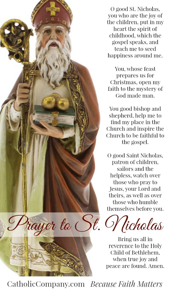Prayer to Saint Nicholas