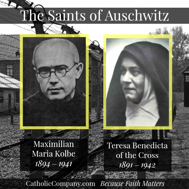 The Saints of Auschwitz - Maximilian Kolbe Edith Stein