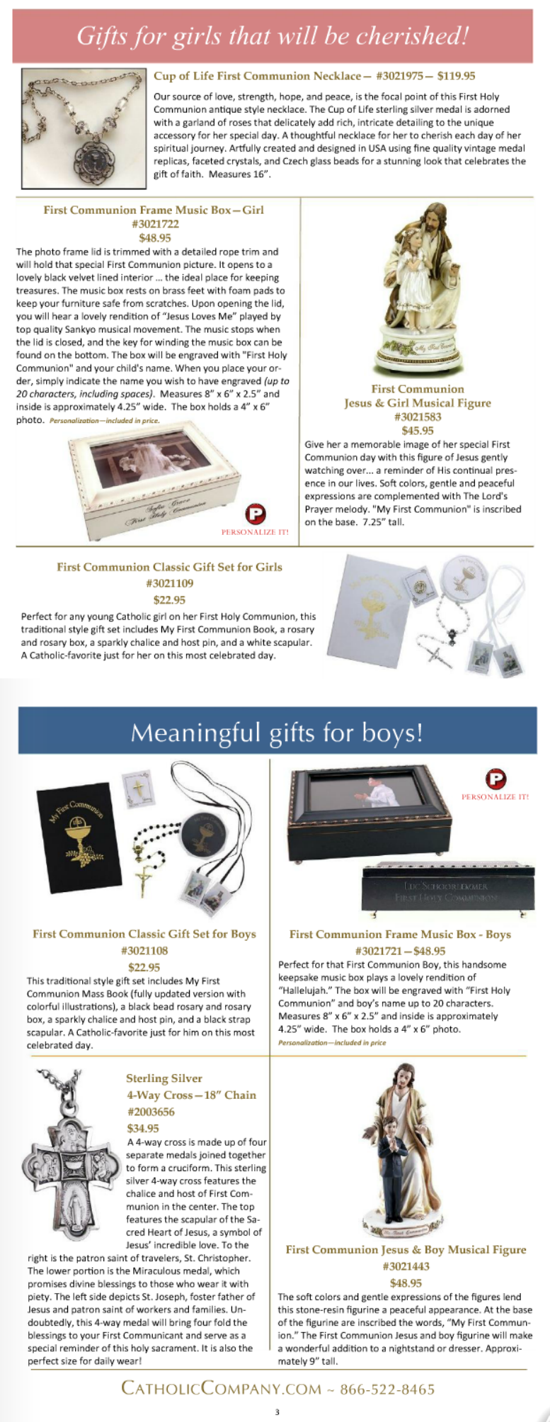 First Communion Gift Guide