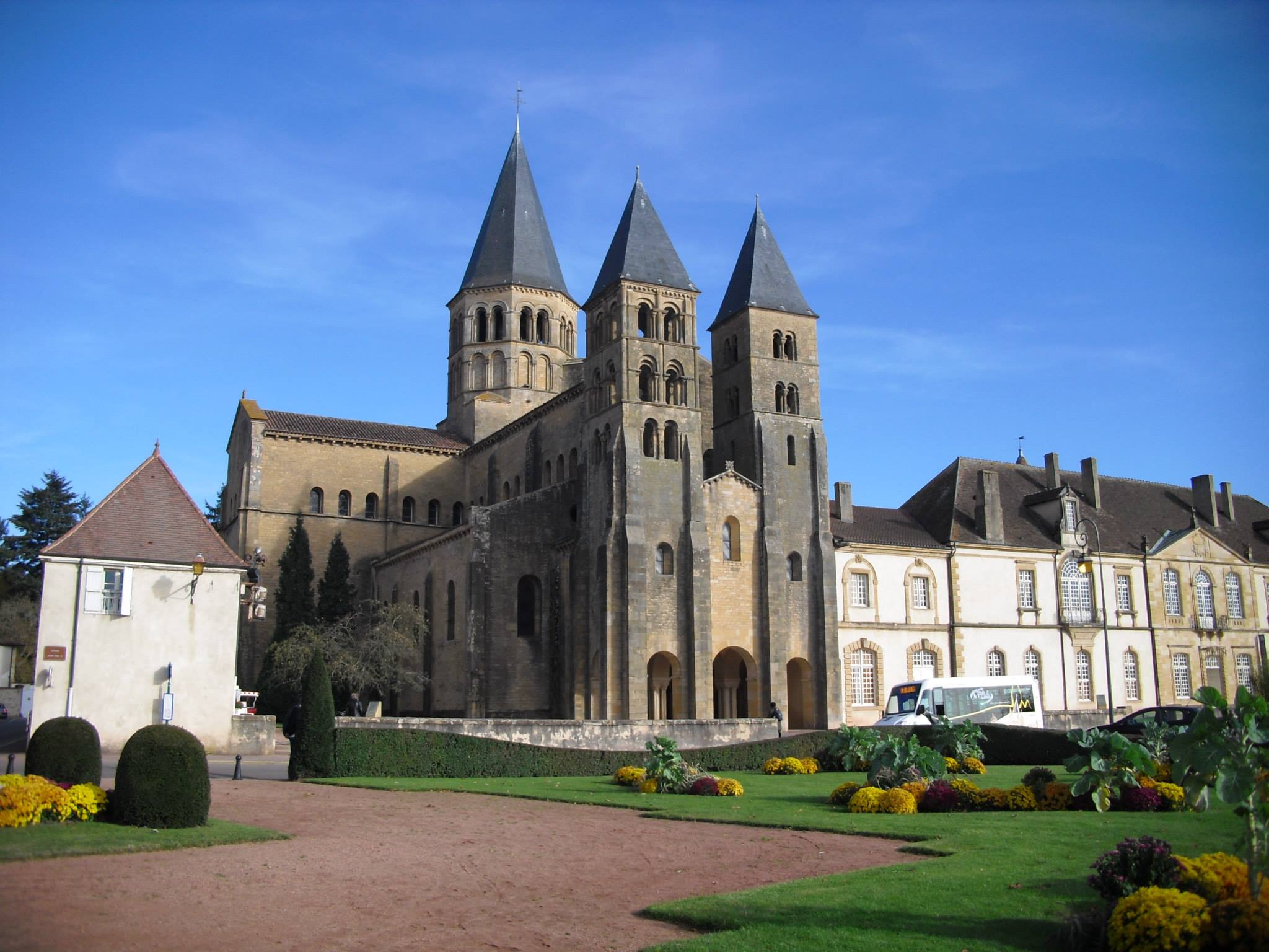 The Basilica of the Sacred Heart at Parey-le-Monial, France.