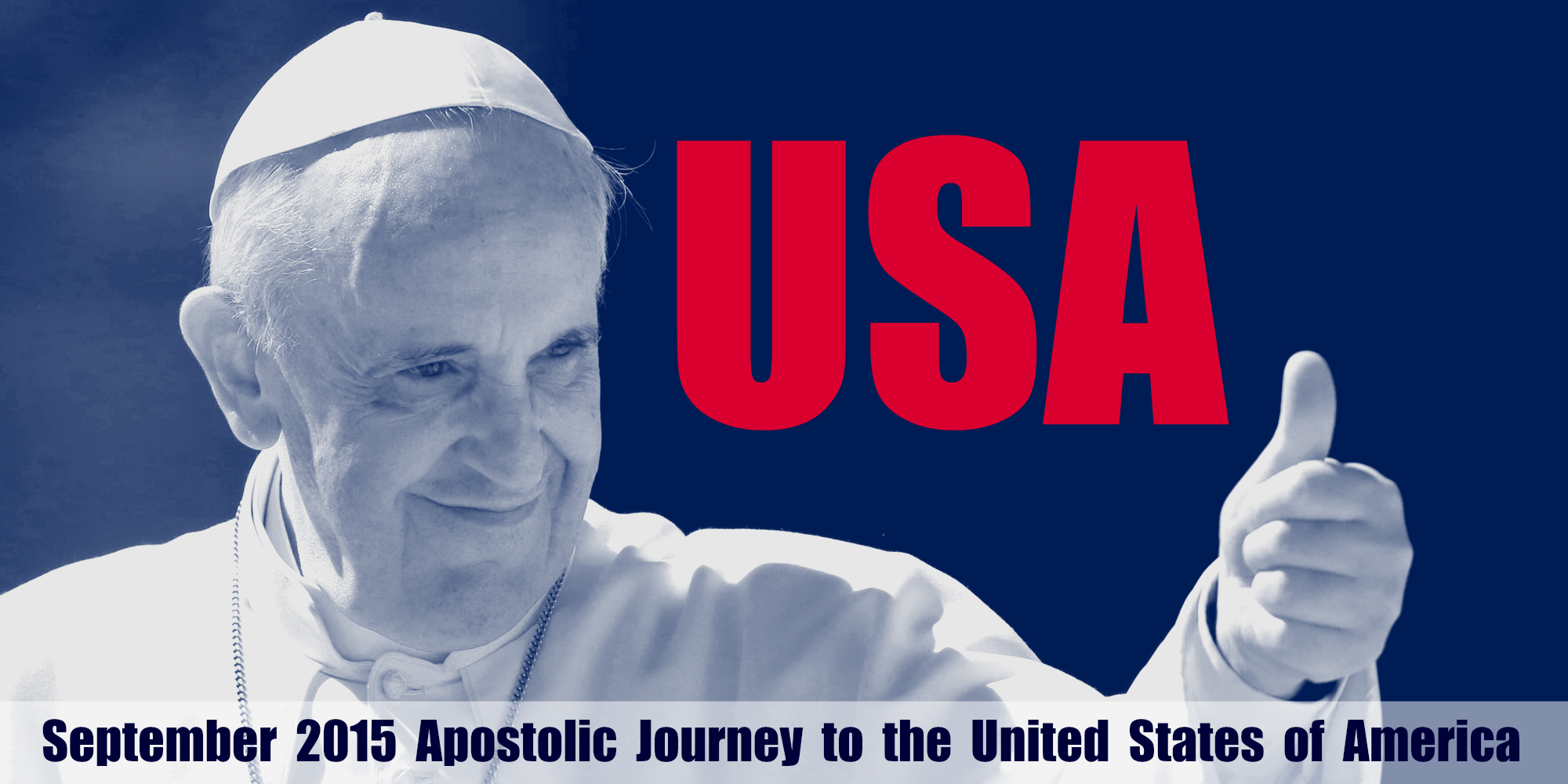 Schedule of Pope Francis' trip to the United States