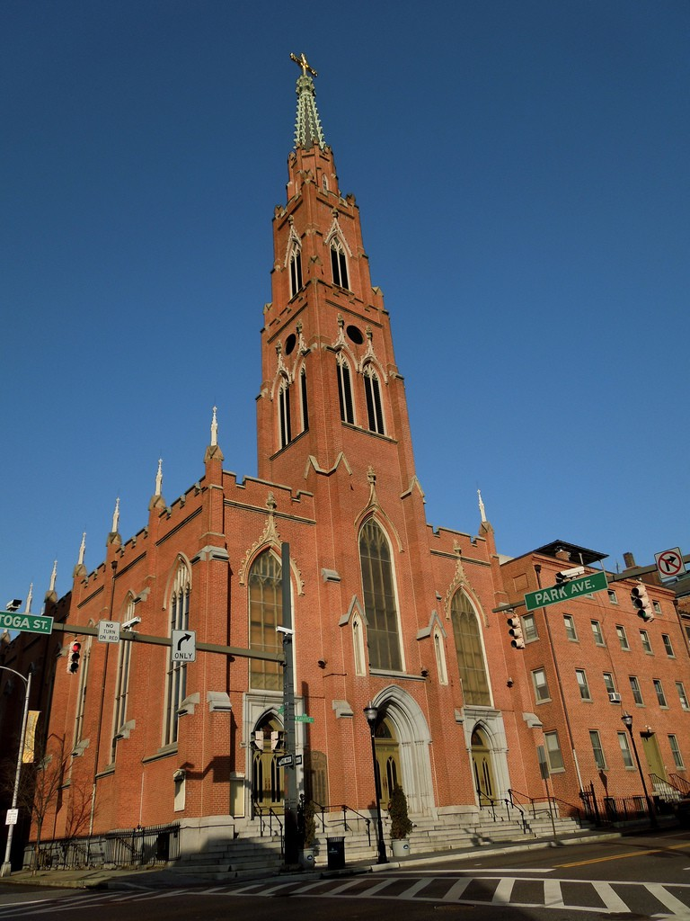 The National Shrine of St. Alphonsus Liguori in Baltimore, MD