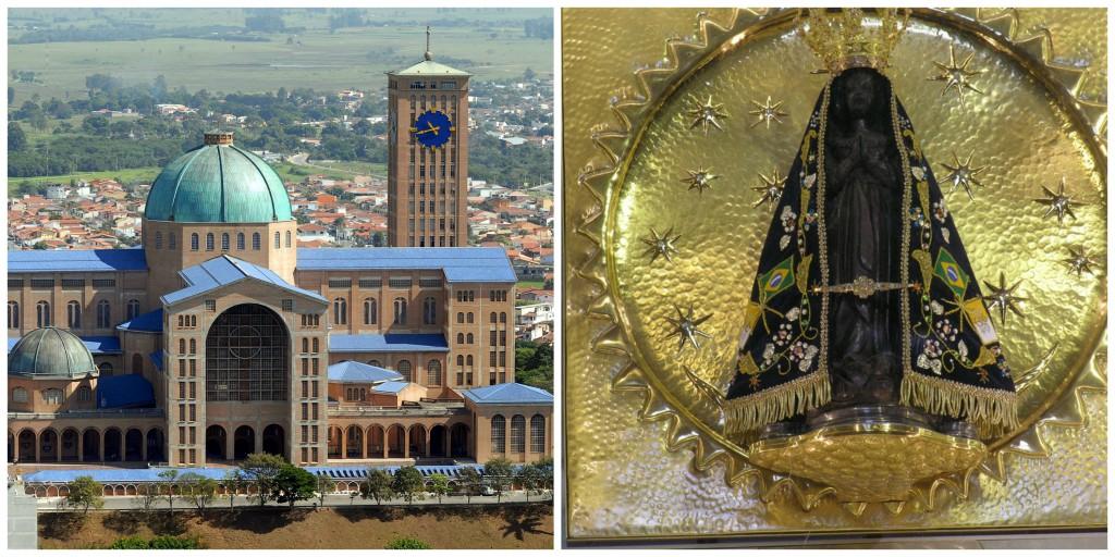 The National Basilica, located in Aparecida, Brazill. Source: en.wikipedia.org