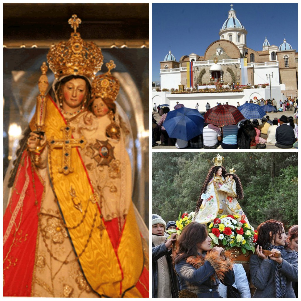 Our Lady of Quinche, patroness of Ecuador.
