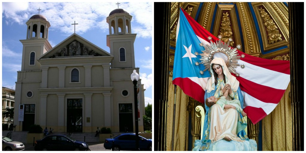 Our Lady of Divine Providence and Cathedral in Puerto Rico