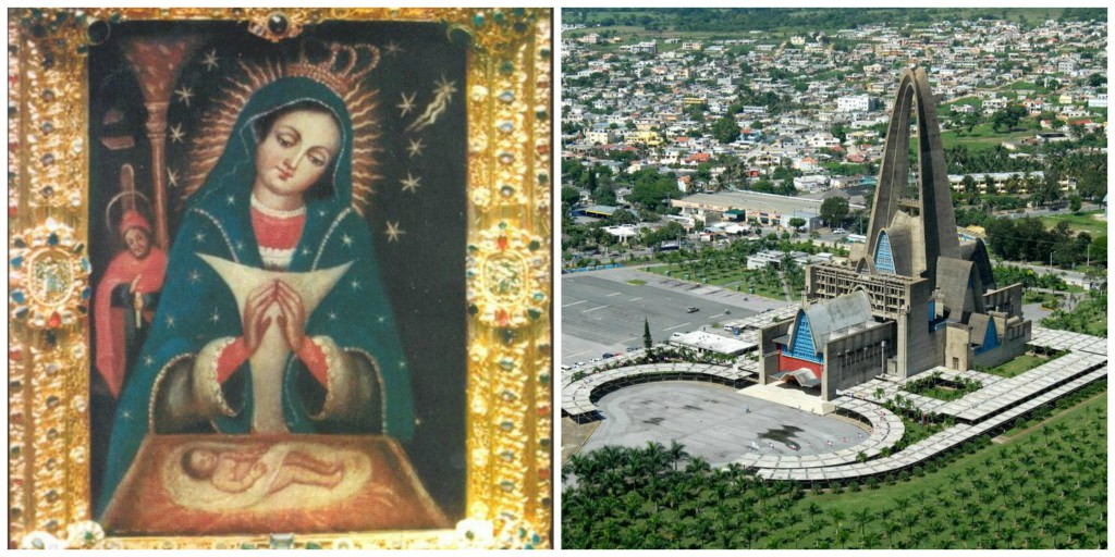 "Our Lady of ""La Altagracia"" and Shrine of Our Lady of Altagracia in Higüey, Dominican Republic."