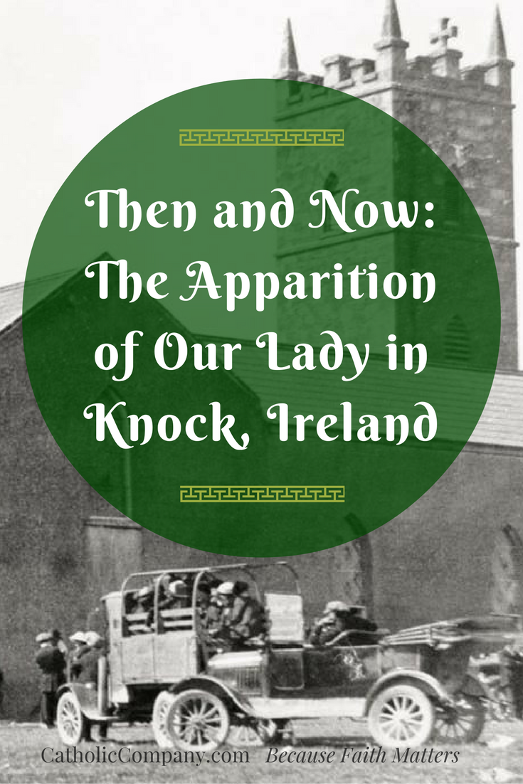Learn about the Apparition of the Blessed Virgin Mary in Ireland.