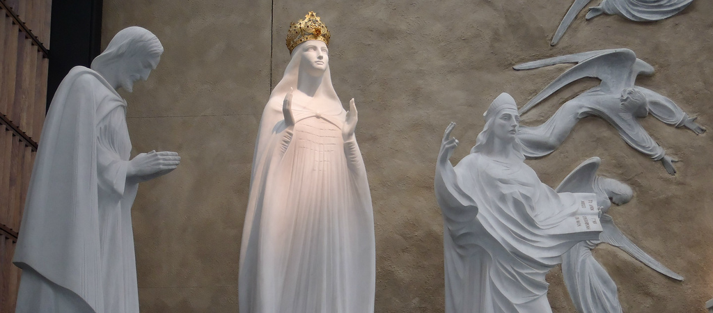 Our Lady of Knock Shrine in Ireland