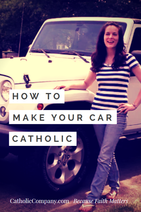 Video How to Make Your Car Catholic