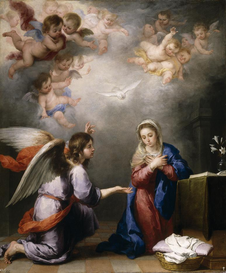 The Annunciation, by Murillo.