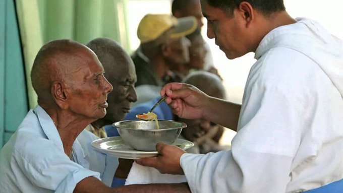 The selfless work of the Missionaries of the Poor