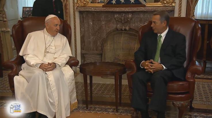 John Boehner Pope Francis