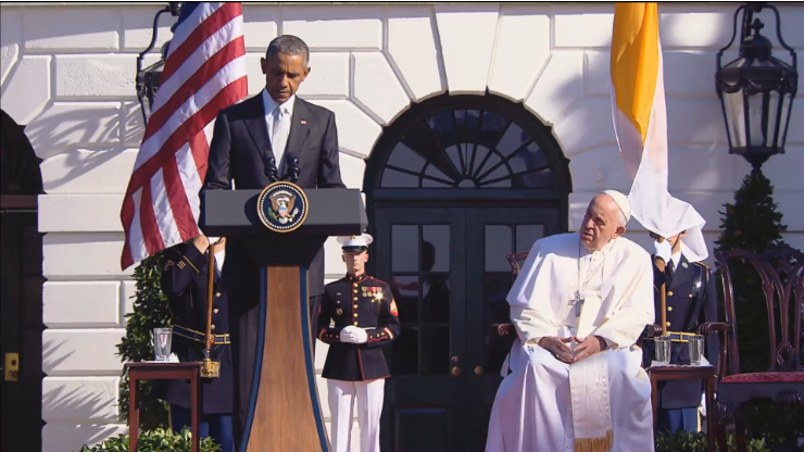 President Obama Pope Francis White House