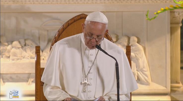 Pope Francis speech to Catholic Charities