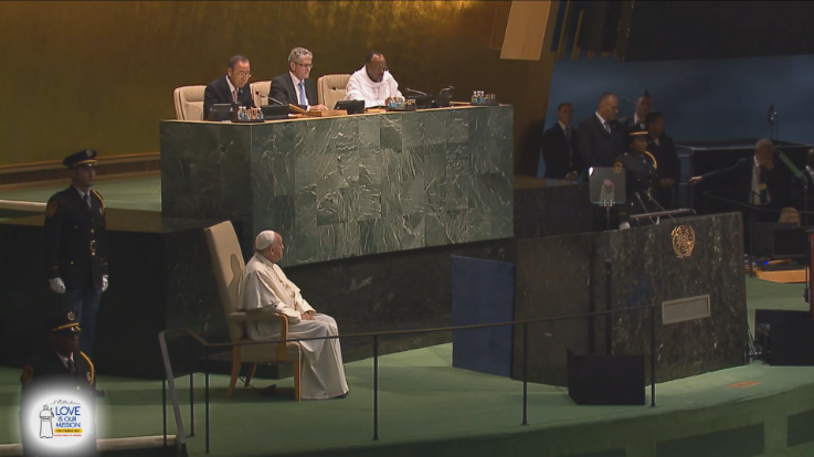 Pope Francis United Nations