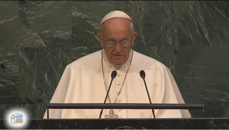 Pope Francis U.N. Speech