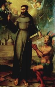 Spanish Franciscan friar Junípero Serra